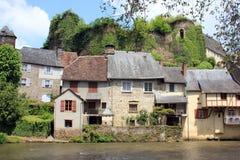 Segur-le-castello, Francia Fotografia Stock Libera da Diritti