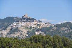 Segura de la Sierra, Jaén, España imágenes de archivo libres de regalías