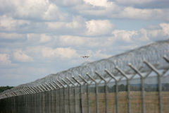 Segurança aeroportuária Foto de Stock Royalty Free