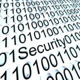 Segurança binária Imagens de Stock