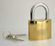 Segurança como um negócio Fotos de Stock Royalty Free