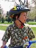 Segurança da bicicleta Fotos de Stock Royalty Free