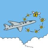 Segurança da cabina do piloto Imagem de Stock Royalty Free