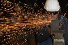 Segurança da fábrica Imagens de Stock