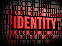 Segurança da identidade ilustração royalty free