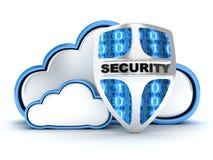 Segurança da nuvem Fotos de Stock