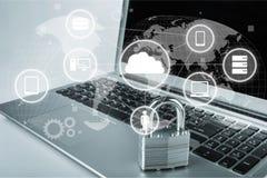 Segurança da rede Fotos de Stock