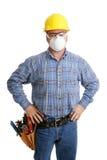 Segurança de construção Imagens de Stock Royalty Free