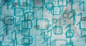 Segurança de dados grande do conceito do espaço do Cyber imagem de stock royalty free