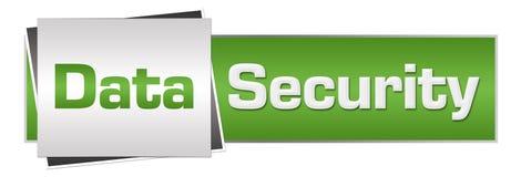 Segurança de dados Grey Horizontal verde Imagem de Stock Royalty Free