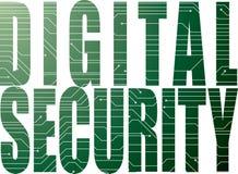 Segurança de Digitas Fotografia de Stock