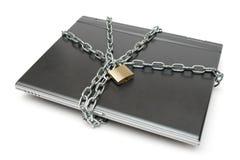 Segurança do caderno Imagem de Stock Royalty Free