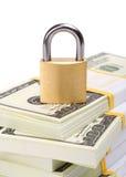 Segurança do dinheiro Imagens de Stock Royalty Free