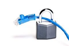 Segurança do Internet foto de stock