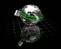 Segurança do Internet Fotografia de Stock Royalty Free