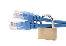 Segurança do Internet Imagens de Stock