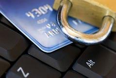 Segurança do Internet do computador fotos de stock