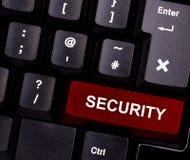 Segurança do teclado Fotos de Stock Royalty Free