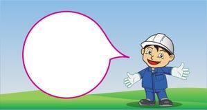 Segurança dos desenhos animados Imagens de Stock