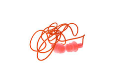 Segurança dos tampões de ouvido Fotos de Stock Royalty Free