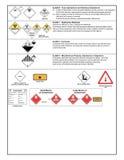 Segurança e sinais de aviso ilustração do vetor