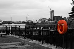 Segurança em primeiro lugar em Londres imagem de stock royalty free