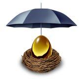 Segurança financeira Fotografia de Stock