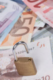Segurança financeira Fotos de Stock Royalty Free