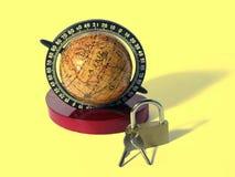 Segurança global Imagem de Stock Royalty Free