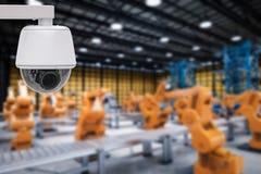 Segurança na fábrica Imagem de Stock