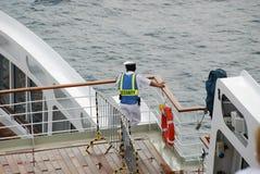 Segurança no mar imagens de stock royalty free