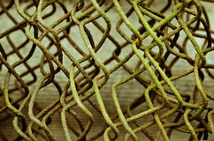 Fio oxidado velho Foto de Stock Royalty Free