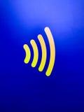 Segurança sem contato do pagamento do logotipo de Paypass rápida e segura imagens de stock royalty free