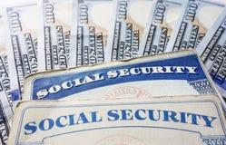 Segurança social Imagens de Stock
