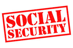 Segurança social ilustração royalty free