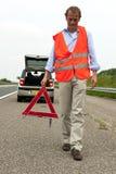 Segurança viajando de automóvel Fotos de Stock