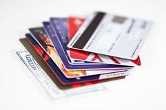Segurança do cartão de crédito Foto de Stock
