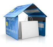 Segurança do cartão de crédito Imagem de Stock