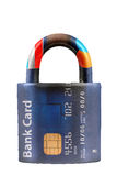 Segurança do cartão de crédito Imagem de Stock Royalty Free