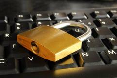 Segurança do Internet Foto de Stock Royalty Free