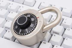 Segurança do Internet Fotos de Stock