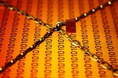 Segurança dos dados Fotos de Stock Royalty Free