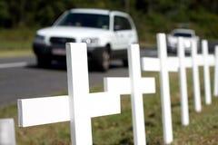 Segurança rodoviária Fotos de Stock Royalty Free