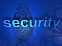 Seguridad stock de ilustración