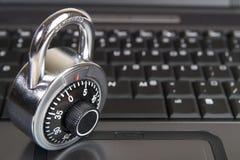 Seguridad 5 del Internet Imagen de archivo libre de regalías