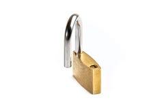 Seguridad abierta de la cerradura aislada libre illustration