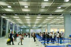 Seguridad aeroportuaria fotos de archivo