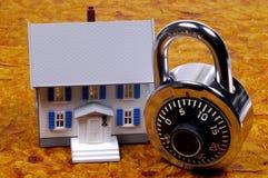 Seguridad casera foto de archivo libre de regalías