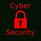 Seguridad cibernética Foto de archivo