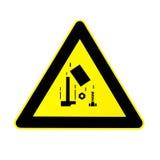 Seguridad de construcción - objetos caidos Imágenes de archivo libres de regalías